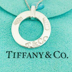 """Tiffany & Co.   1837 Floating Circle Pendant 16"""""""